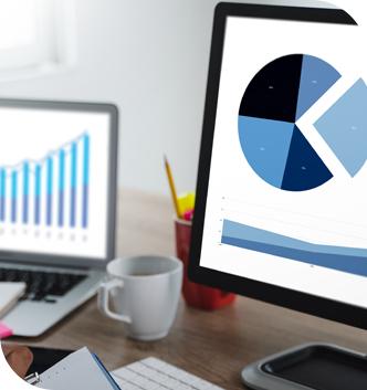 graphique gestion de l'activité commerciale
