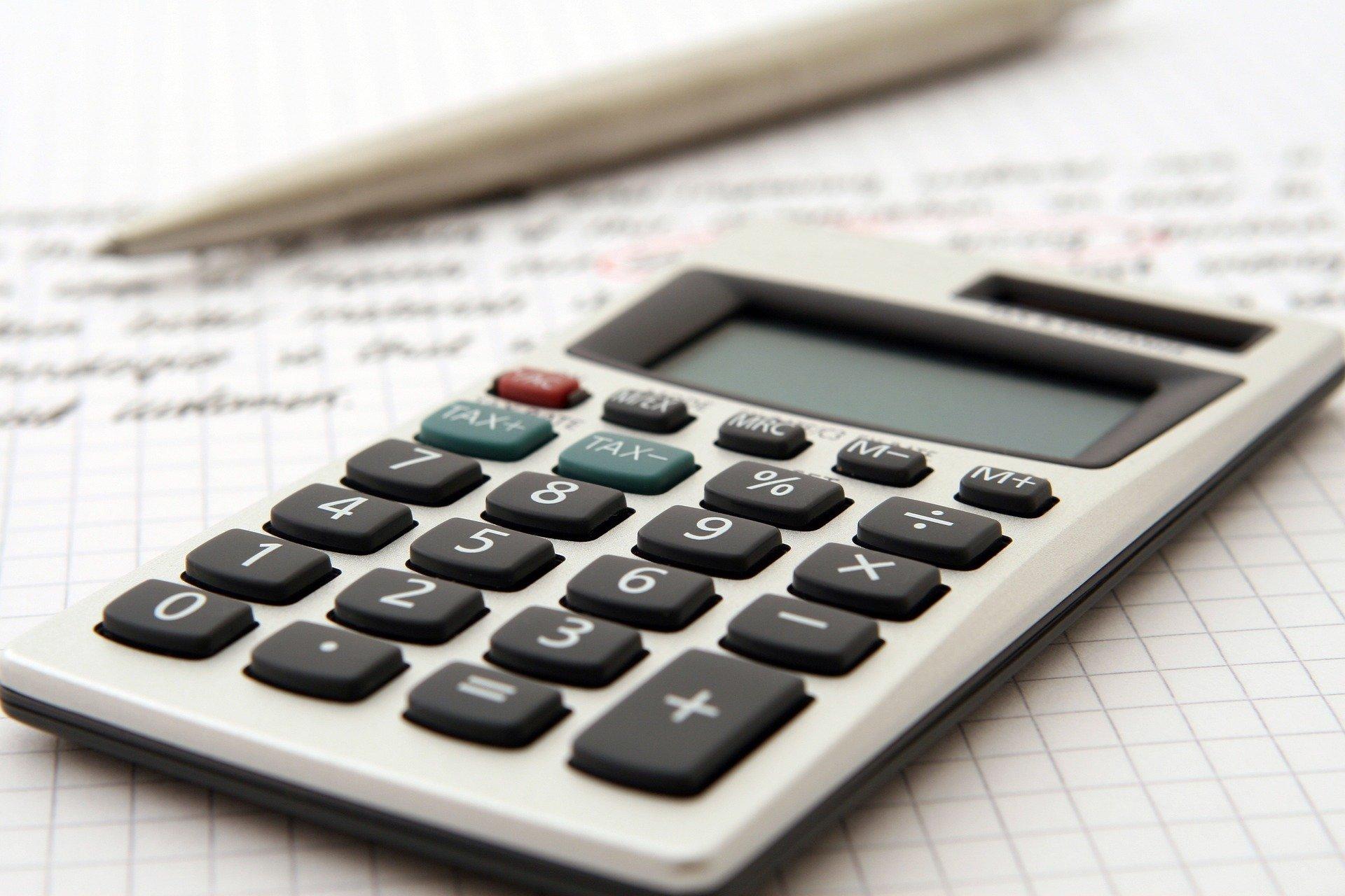 image calculatrice comptabilité - béthune, chauny, hauts-de-france